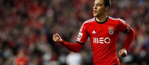Rodrigo Machado, nella foto con la maglia del Benfica.