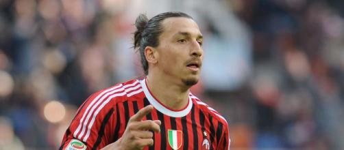 Zlatan Ibrahimovic dovrebbe partire da titolare contro la Sampdoria