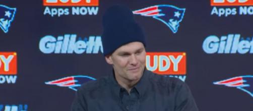 Brady will be a free agent after this season (Image Credit: New England Patriots/YouTube)