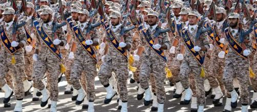 Iran's Revolutionary Guards show their force- (Image source -BBC/YouTube)