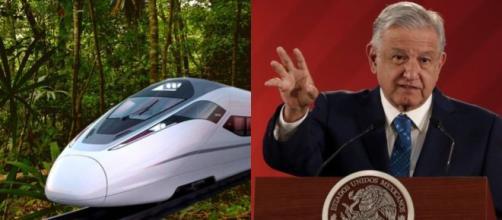 El Tren Maya es una de las principales promesas de López Obrador. - encontacto.mx