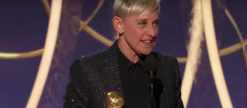 Ellen DeGeneres proved this humor could be more kind than caustic during her 2020 Golden Globe acceptance speech.[Image source: NBC-YouTube]