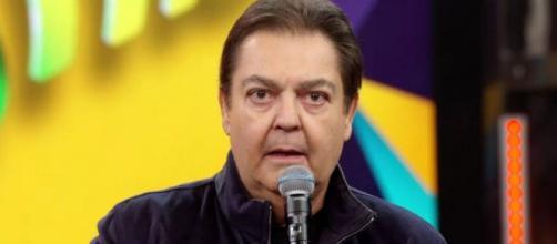 """Fausto Silva está à frente do """"Domingão do Faustão"""" há 30 anos. (Reprodução/TV Globo"""