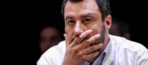 Il leader della Lega Matteo Salvini