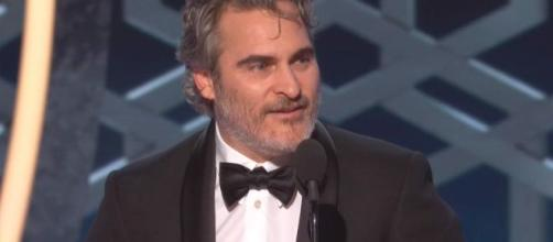 Joaquin Phoenix Gives Bizarre Speech for Best Actor in a Motion Picture. [Image Credit] Variety/YouTube