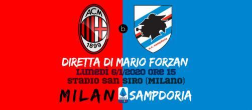 Live Serie A: Milan - Sampdoria dalle ore 15. San Siro vIbra forte!