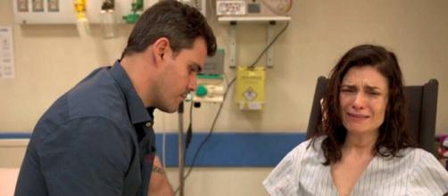 Magno e Leila viverão momento difícil em 'Amor de Mãe'. (Reprodução/TV Globo)