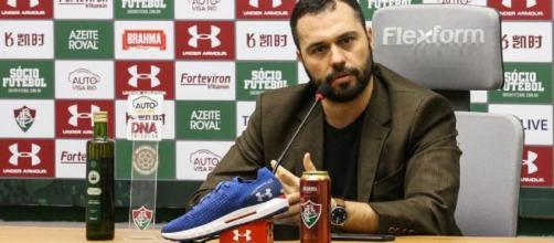 Mário Bitetncourt é o atual presidente do Fluminense. (Lucas Merçon/fluminense.com.br)