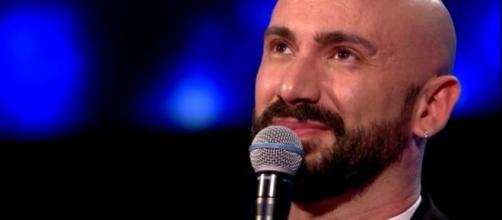 Il cantante palermitano Federico Martello