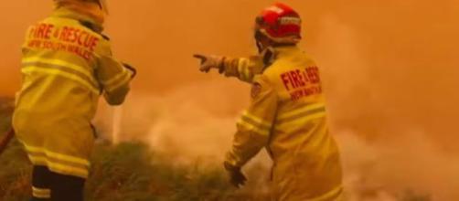 Les feux en Australie ne s'arrêtent plus depuis quelques semaines. Credit: Capture d'écran/Le Parisien