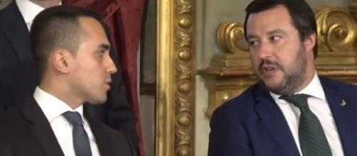 Luigi Di Maio e Matteo Salvini, un tempo alleati di governo.
