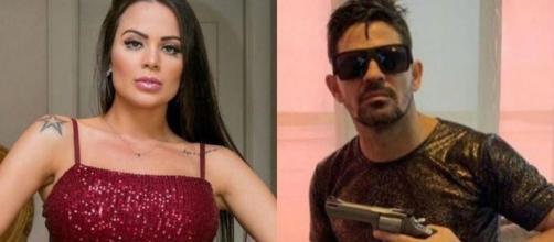 Vitória, ex de Eduardo Costa, acusa o irmão do cantor de ameaçá-la de morte. (Arquivo Blasting News)