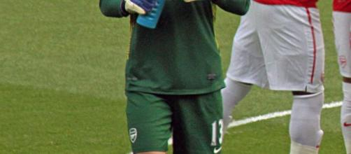 Wojciech Szczesny, nella foto con la maglia dell'Arsenal, è vicino alla firma con la Juve.