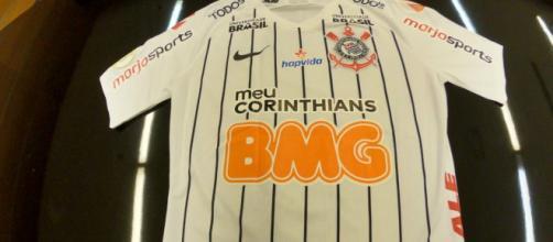 Camisa do Corinthians ganhará nova marca. (Arquivo Blasting News)