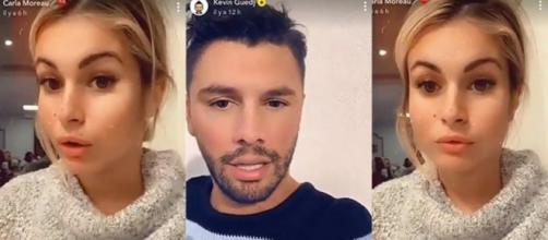Carla et Kevin cambriolés : ils répondent à ceux qui les accusent d'avoir mis en scène leur cambriolage pour emménager à Dubaï. ®Snapchat