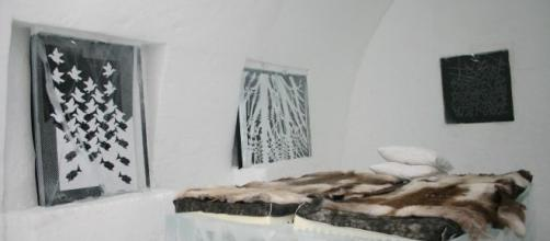 Le suite dell'Ice Hotel di Jukkasjärvi.