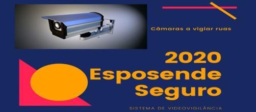 Sistema de videovigilância em Esposende