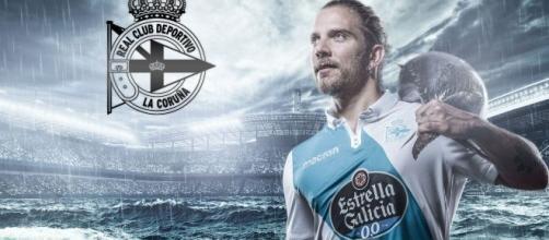 Diego Bello, en una foto difundida por el Deportivo. / @RCDeportivo