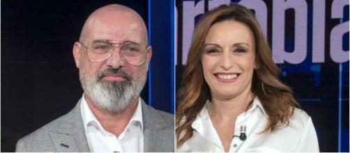 Elezioni Emilia Romagna, Stefano Bonaccini e Lucia Borgonzoni