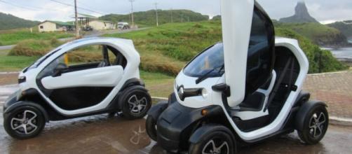 Em 2030, apenas carros elétricos poderão ser usados na ilha. (Ana Clara Marinho/TV Globo)