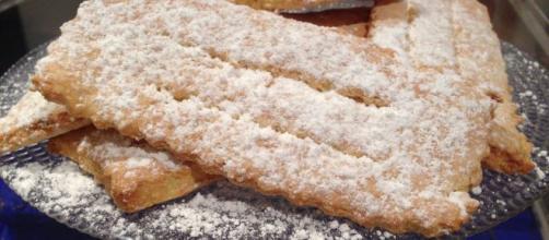 Le Chiacchiere, il dolce fritto di Carnevale.