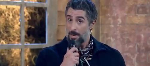 Marcos Mion se pronuncia sobre print de conversas. (Reprodução/Record TV)