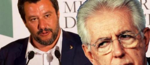Monti smentice Salvini: 'Non è vero che ha combattuto mio governo, era europarlamentare'