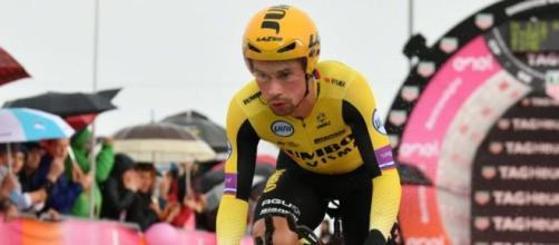 Primoz Roglic: 'Sono più orgoglioso del podio al Giro che della vittoria alla Vuelta'