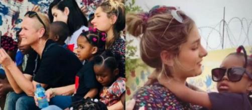 Sasha e Xuxa Meneghel realizam viagem missionária pela África: ''Melhor presente''. (Reprodução/Instagram)