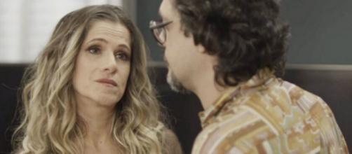 Silvana ficará decepcionada ao ser abandonada por Mario. (Reprodução/TV Globo)