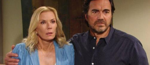 Beautiful, anticipazioni 3 ottobre: Flo confessa a Brooke e Ridge di non essere la madre di Phoebe.