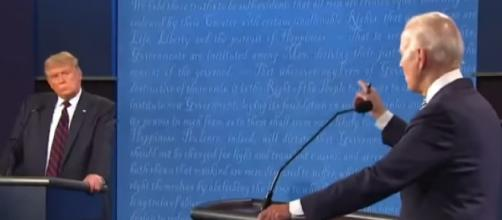 Biggest moments of the first Donald Trump-Joe Biden debate in under 10 minutes. [Image source/PBS NewsHour YouTube video]