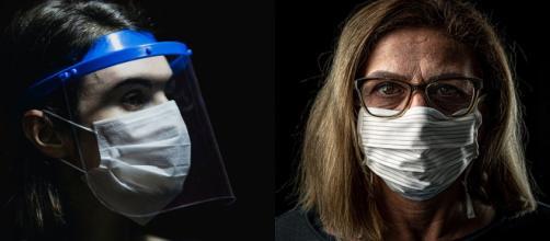 Los ojos pueden ser protegidos por el uso de gafas, que evitan el ingreso del virus y disuaden a tocarlos.