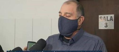 Mulher foi presa em BR depois que matou o filho, segundo a polícia. (Reprodução/TV Globo)