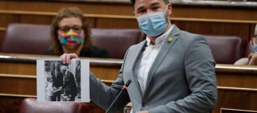 """Rufián polemiza en el Congreso: """"Vox tiene 53 diputados"""""""