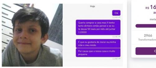 Vaquinha arrecada mais de R$ 160 mil para garoto que tentou comprar casa para família com parcelas de R$ 50 (Reprodução/Redes Sociais)