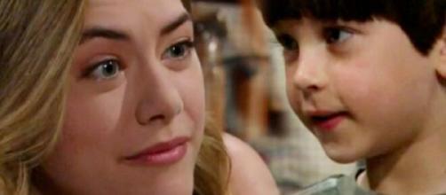 Beautiful, anticipazioni 12 ottobre: Hope chiede scusa a Douglas per non avergli creduto.