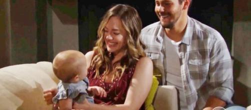 Beautiful, spoiler 11 ottobre: Hope e Liam finalmente felici grazie alla figlia Beth.