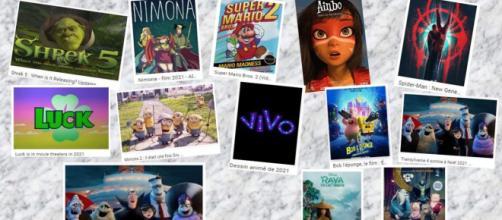Films d'animations 2021 et plus