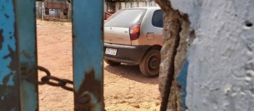 Mãe de menino que morreu preso em carro sob sol estava dormindo. (Reprodução/Jairo Santos/TV Ananguera