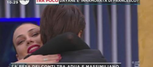 GF Vip, Massimiliano torna a parlare di Adua con Dayane: 'Mi sono molto infatuato di lei'.