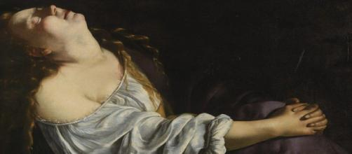Mary Magdelene in Ecstasy by Artemesia Gentileschi (Image via Flickr/ Arthistory-390)