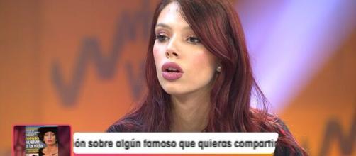Alejandra Rubio, sin miedo a Jorge Javier Vázquez