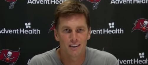 Brady has a 3-2 mark vs Packers. [Image Source: Tampa Bay Buccaneers/YouTube]