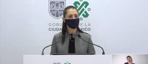Claudia Sheinbaum reporta incremento de contagios de COVID