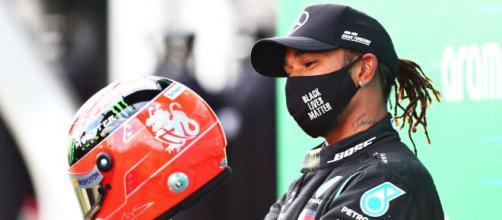 Hamilton iguala el récord de victorias de Schumacher.