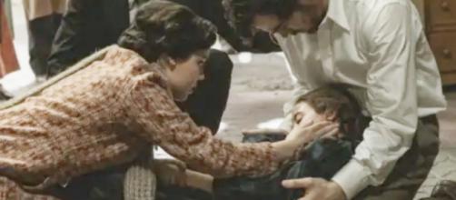 Il segreto, trame al 23 ottobre: Camelia rischia di morire, Manuela ricoverata in ospedale.