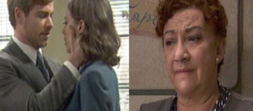 Il segreto, trame al 23/10: Adolfo e Marta si dichiarano il loro amore, Tiburcio scompare.