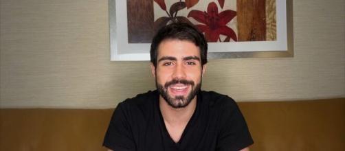 Juliano Laham publica vídeo falando sobre tumor após deixar a 'Dança dos Famosos'. (Reprodução/TV Globo)