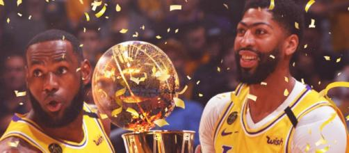 LA Lakers foi o campeão da edição 2019/20. (Arquivo Blasting News)